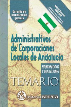 ADMINISTRATIVOS DE CORPORACIONES LOCALES DE ANDALUCÍA (TEMARIO)