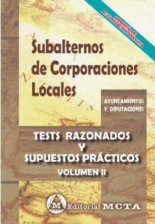SUBALTERNOS DE CORPORACIONES LOCALES (TESTS)
