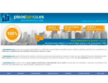 Dise o de paginas web paginas web sectoriales empresa de dise o web - Subastas de pisos embargados ...